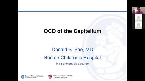 Thumbnail for entry OCD of the Capitellum