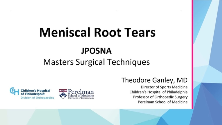 Meniscal Root Tears
