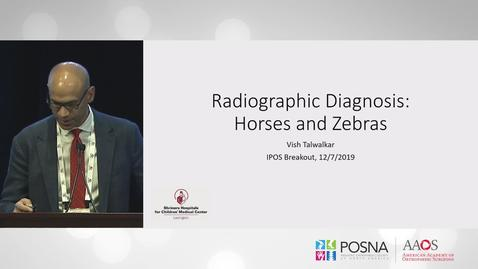 Thumbnail for entry Bone Lesion Radiographic Diagnosis: Horses and Zebras