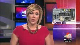 Thumbnail for entry USU Smash Lab [ABC 4 Utah, 02_26_2014)