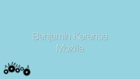 Thumbnail for entry Attendee Interview 2015 - Benjamin Kerensa | Mozilla