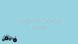 Thumbnail for entry Attendee Interview 2015 - Benjamin Kerensa | Mozilla
