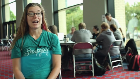 Thumbnail for entry Attendee Interview 2012 - Meghan Gill | 10gen, MongoDB
