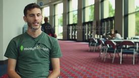 Thumbnail for entry Attendee Interview 2012 - Adam Kroll | 10gen, MongoDB