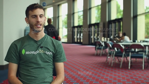 Thumbnail for entry Attendee Interview 2012 - Adam Kroll | 10gen, MongoDB