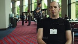 Thumbnail for entry Attendee Interview 2012 - Jono Bacon | Ubuntu, Canonical