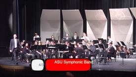 "Thumbnail for entry ASU Symphonic Band: ""The Machine Awakes"""