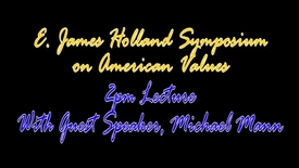 Thumbnail for entry Holland Symposium 2013 - Michael Mann