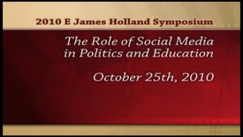Thumbnail for entry Holland Symposium 2010 - Harold Rinegold
