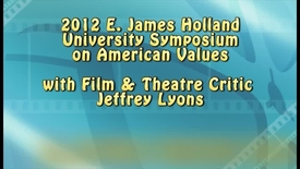 Thumbnail for entry Holland Symposium 2012 - Jeffrey Lyons