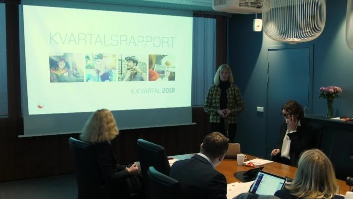 Presentasjon av årsresultat 2018