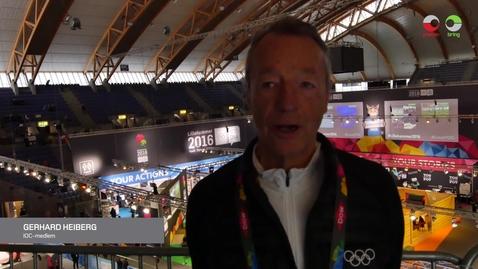 Thumbnail for entry Gerhard Heiberg om Posten og Brings samarbeid med Ungdoms-OL
