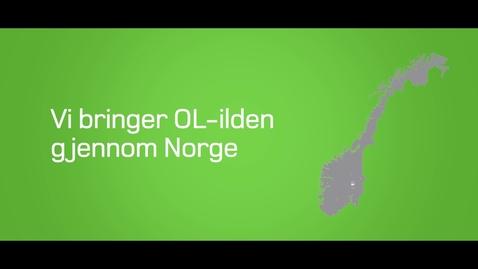 Thumbnail for entry Vi bringer OL-ilden gjennom Norge