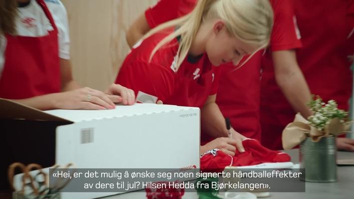 Norgespakken - Håndballjentenes juleverksted