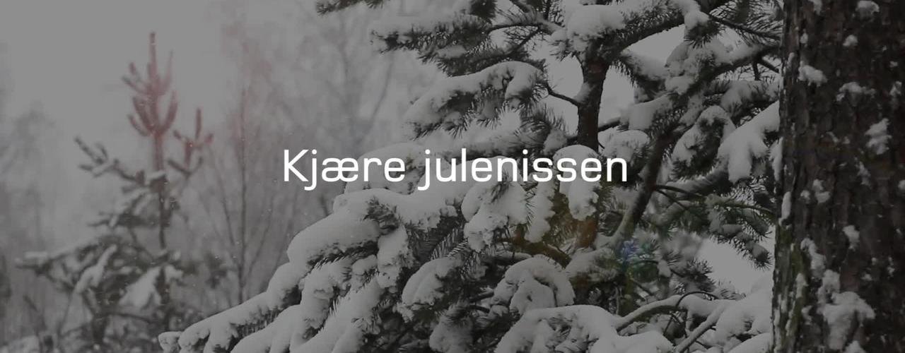 Kjære julenissen