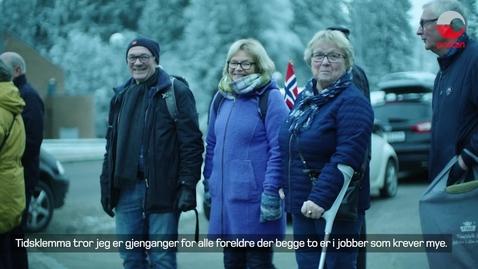 """Thumbnail for entry """"Tidsklemma""""- På lag med besteforeldrene"""