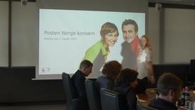 Thumbnail for entry Livesending Posten Norge: Presentasjon av halvårsresultat og 2. kvartal 2015 -opptak