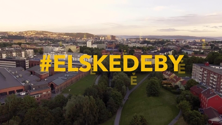 Elskede by (english)