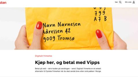 Thumbnail for entry Hvordan kjøpe digitalt frimerke