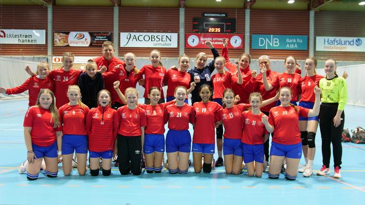 Heidi Løke hos Lillestrøm J05 (Trening med stjernene)