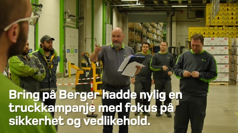 Thumbnail for entry Truckkampanje på Berger