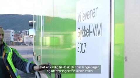 Thumbnail for entry Bring leverer sykkel-VM 2017