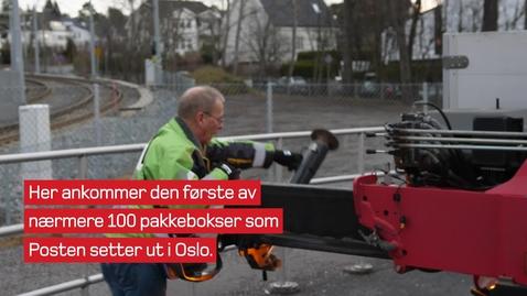 Thumbnail for entry Lansering av Pakkeboks