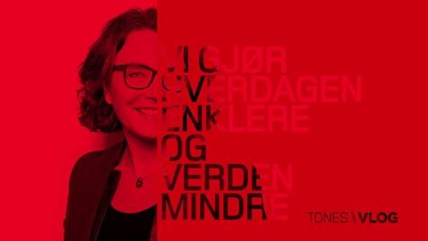 Thumbnail for entry Tones vlog #17 - På julejobbing