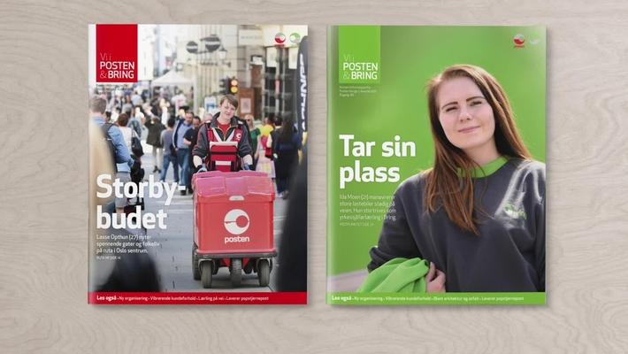 Promo Vi i Posten og Bring-Magasinet