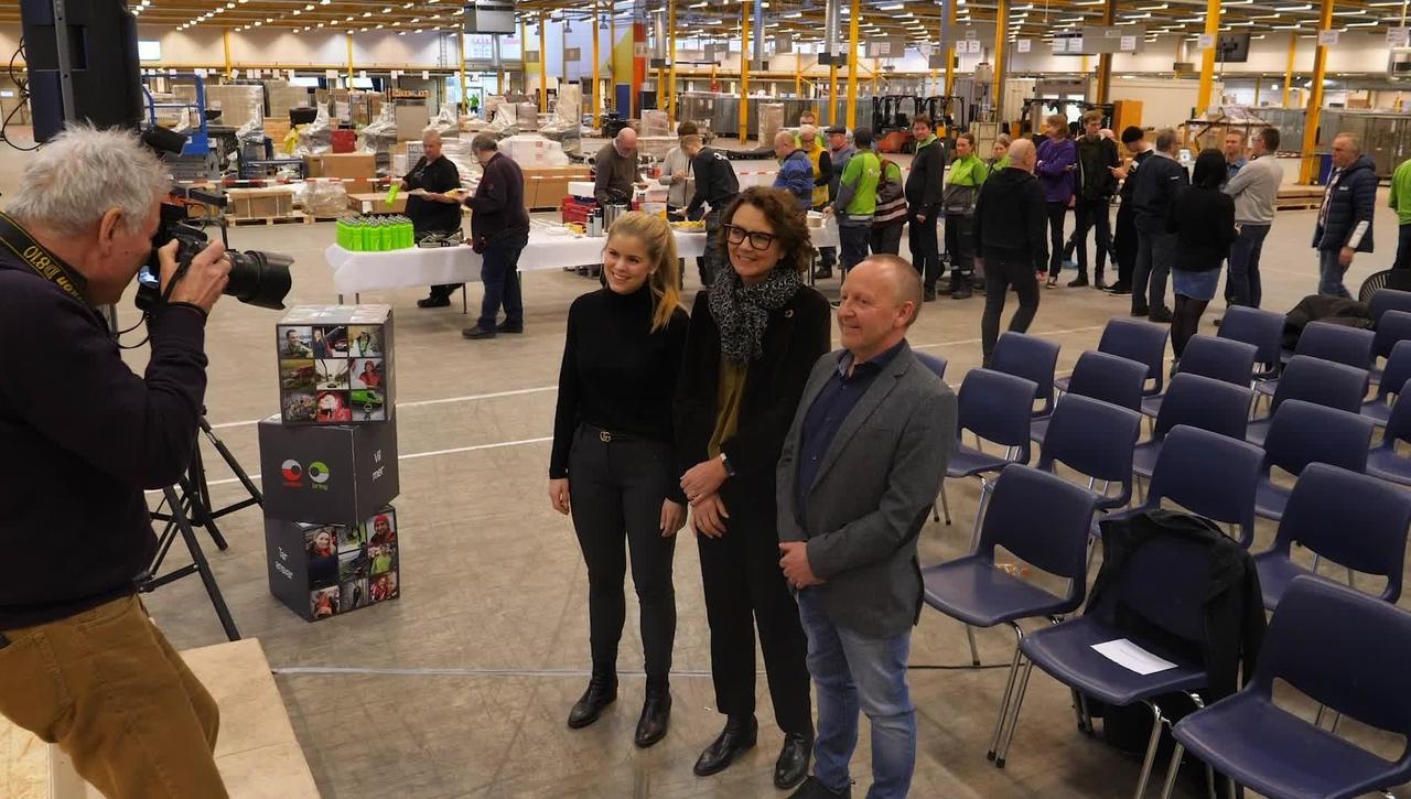 Tones vlog #38: Åpning av Logistikksenter Hamar