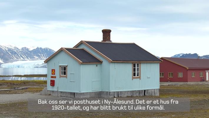 Post i verdens nordligste lokalsamfunn