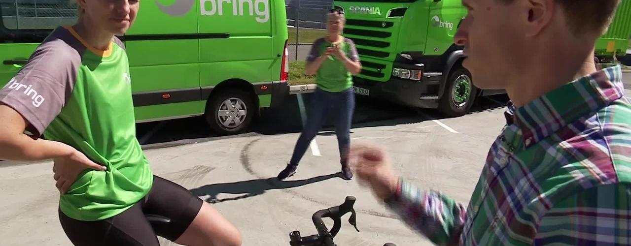 TV2 - Første samling med Brings sykkellag