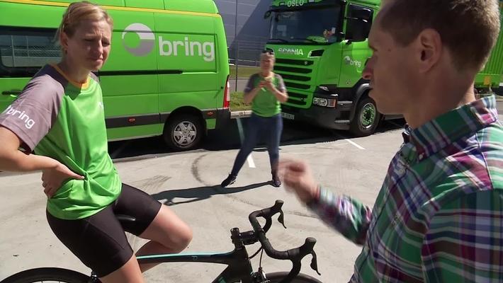 Første samling med Brings sykkellag til VM