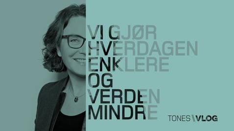 Thumbnail for entry Tones vlog #14 - Samhandling i Ålesund