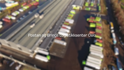 Thumbnail for entry Logistikksenter Oslo (presentasjon)