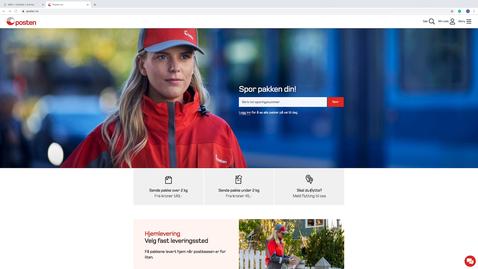 Thumbnail for entry Så enkelt registrerer du flytting til Posten og Folkeregisteret samtidig