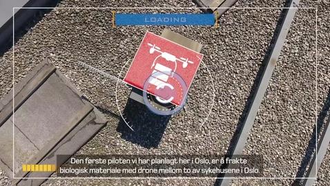 Thumbnail for entry Dronesamarbeid med OUS