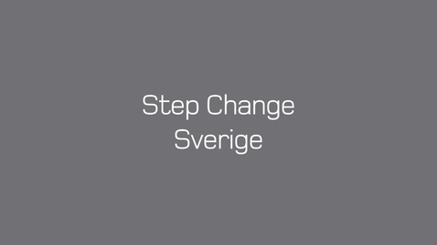Thumbnail for entry Tones vlog #33: Step Change Sverige
