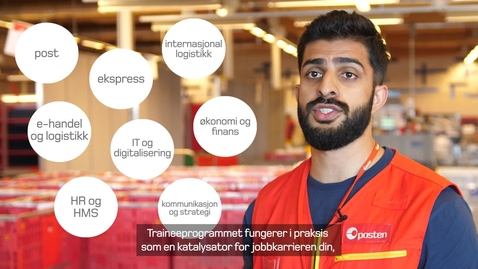 Thumbnail for entry Traineeprogrammet - Mujtaba Hussain