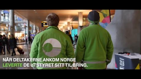 Thumbnail for entry Bringleveranse til Lillehammer2016