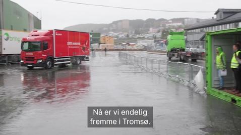 Thumbnail for entry El-lastebil til Tromsø