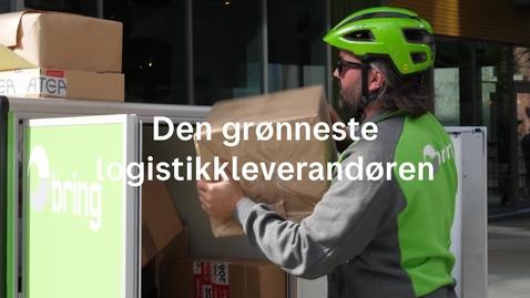 Thumbnail for entry Den grønneste logistikkaktøren