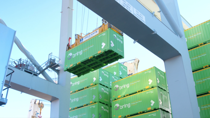 Nye vekselbeholdere ankommer Oslo havn