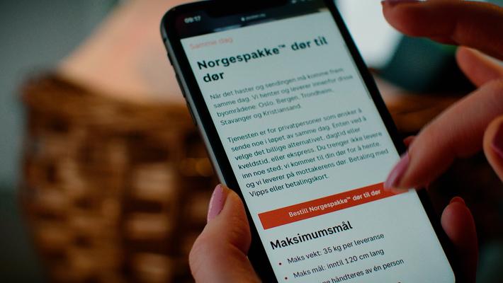 """Norgespakke dør til dør """"Omtanke"""" 30 sek Oslo"""