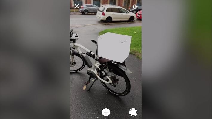 Posten Labs - AR-app (sykkel)