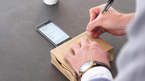 Thumbnail for entry Sende med digitalt frimerke