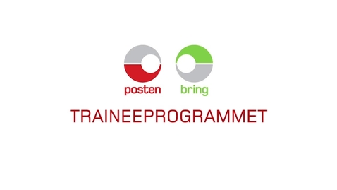 Thumbnail for entry Posten og Brings Traineeprogram (2015)