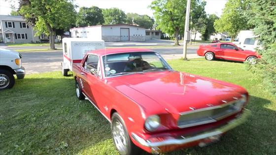 Marty Werner's 1966 Mustang Camper Special
