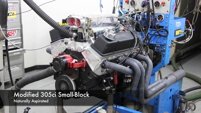 A 305ci Engine Makes Big Horsepower Using a TorqStorm Supercharger