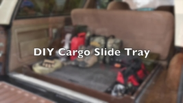 Handy Slider: We Build A DIY Sliding Cargo Storage Tray For Our 4x4